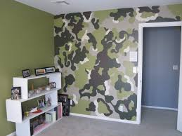 camouflage wallpaper for bedroom home design