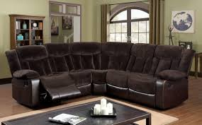 Reclining Sofa With Chaise by Reclining Sectional Reclining Sectional Sofas Furniture