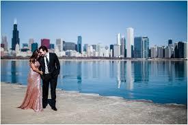 Wedding Photographers Chicago Chicago Engagement Photos At The Adler Planaterium U0026 Union Station