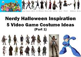 nerdy video game halloween costumes part 1 the love nerds