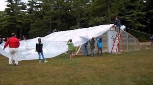 covering hoop house 2013 youtube