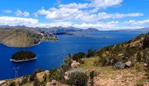 Lake Titicaca Map Lake Titicaca Peru Alterra Cc