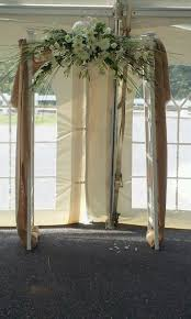 wedding arches decorated with burlap 13 best decorating wedding arch images on wedding