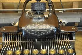 blickensderfer typewriter no 5 case instructions kusera