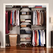 john louis home 12 in depth simplicity closet organizer hayneedle