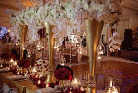 Gold Table Decorations Wedding Decoration Ideas Table Centerpieces Crystal Wedding
