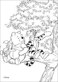 winnie pooh tigger piglet coloring pages hellokids