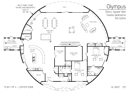 Church Octagon Floor Plans Floor Plan Dl 8001 Monolithic Dome Institute