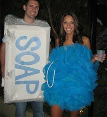 soap and loofah halloween couples costume ideas 2012 popsugar