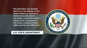 Egypts Flag Us To Withhold 290m In Egyptian Aid Over Human Rights Egypt