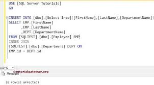 sql select from multiple tables sql insert into select statement