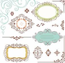 vector ornate frame free vector 9 701 free vector for