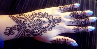 pretty indian henna easy stylish mehendi design tutorial best