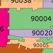 pasadena zip code map california zip code boundary map ca