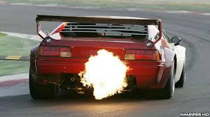 lexus is 350 dubizzle 1979 bmw m1 procar shooting flames around a race track karage tv
