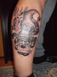 gambling tattoo art and designs page 40