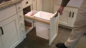 trash cans for kitchen cabinets bin for inside kitchen cupboard trash can holder in cabinet waste