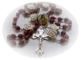 petal rosary real petal