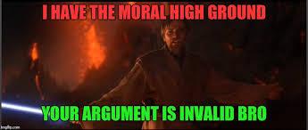 Meme High - obi wan high ground meme generator imgflip