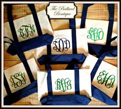 monogramed items monogrammed bags
