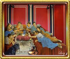 banchetti antica roma il cibo nell antica roma esercizi per la secondaria di ii grado