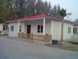 low cost prefabricated houses with downspout outside 3x40ft office
