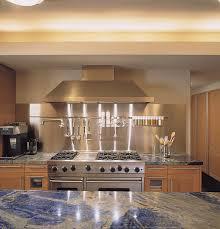 steel backsplash kitchen furniture captivating modern kitchen with granite top kitchen