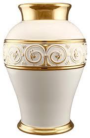 Greek Vase Design Ahura Shaped Greek Vase White Transitional Vases By Ahura