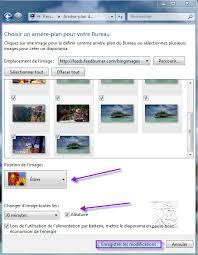 arri鑽e plan de bureau windows 7 gratuit utiliser les images de comme diaporama de fonds d écran