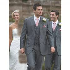 groomsmen attire for wedding gentleman grey slim fit men suit groomsmen suit 3 suit