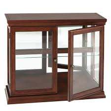 Glass For Table by Furniture Rustic Curio Cabinets With Double Door And Drawers For