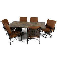 slate dining table set slate tile top dining tables set dining table design ideas