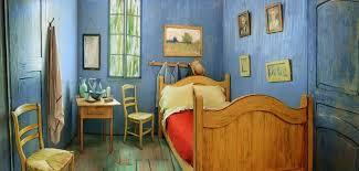 la chambre de vincent gogh airbnb reproduit la chambre à coucher de vincent gogh grazia