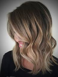 medium length dark brown hairstyles ombre hair dark brown to blonde medium length archives