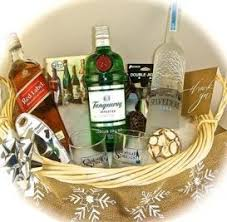 liquor gift baskets the cocktail classic gift basket is ready for liquor delivery to