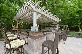 White Vinyl Pergola by Urbana Vinyl Pergolas Ohio Hardwood Furniture