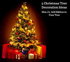 5 christmas tree decoration ideas rudolph u0027s christmas trees