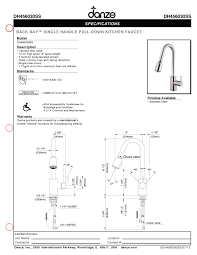 danze back bay kitchen faucet faucets kitchen indoor