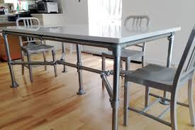 Diy Industrial Dining Room Table 5 Modern Diy Dining Room Tables Built With Industrial Pipe