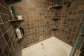 alluring slate tile in bathroom shower about home interior