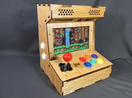 Tabletop Arcade Cabinet Diy Arcade Cabinet Kits More Porta Pi Arcade Kit