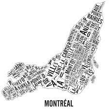 Map Of Montreal Neighbourhoods Map Of Montreal