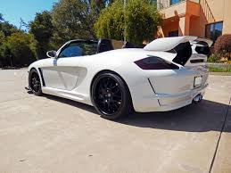 porsche 997 widebody porsche 986 boxster to 997 turbo gemballa avalanche widebody