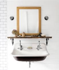 country living bathroom ideas white bathroom with kohler double sink our home as seen in country