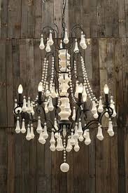 Nursery Chandelier Wood Beaded Chandelier U2013 Engageri