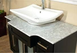 bathroom vessel sinks navagio matte stone vessel sink hibiscus
