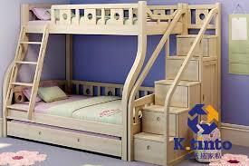 kingtinto bedroom furniture child bedroom suite solid wood bunk