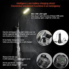 quote the light that burns twice as bright lumintop sd75 usb rechargeable flashlight 4000 lumens with power