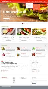 free u0026 premium cafe and restaurant joomla template food