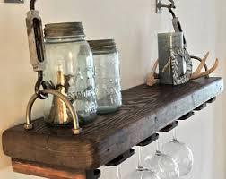 wine glass rack etsy